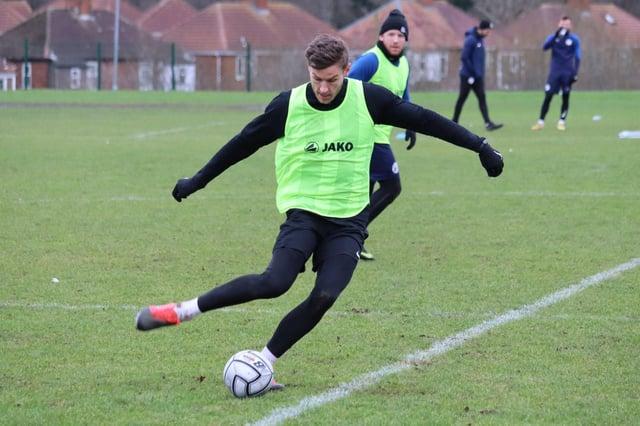 Jacob Blyth. Picture via Gateshead FC.