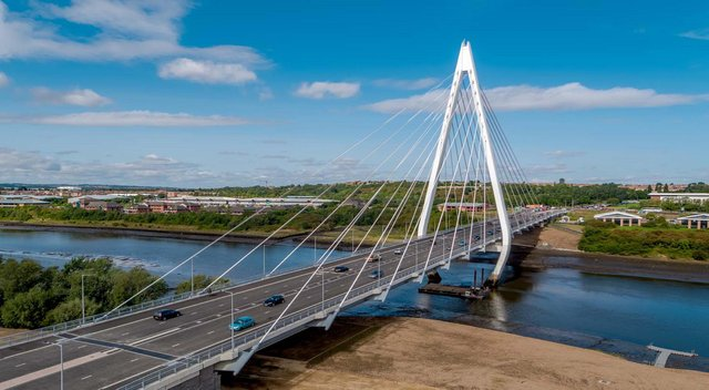Sunderland Strategic Transport Corridor (SSTC) 3, which will take traffic between the Northern Spire Bridge and the city centre, is expected to be complete in September.