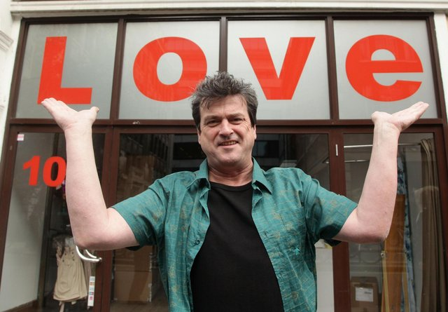 Les McKeown during a photocall to celebrate the release of the band's career retrospective boxset, 'Rollermania'