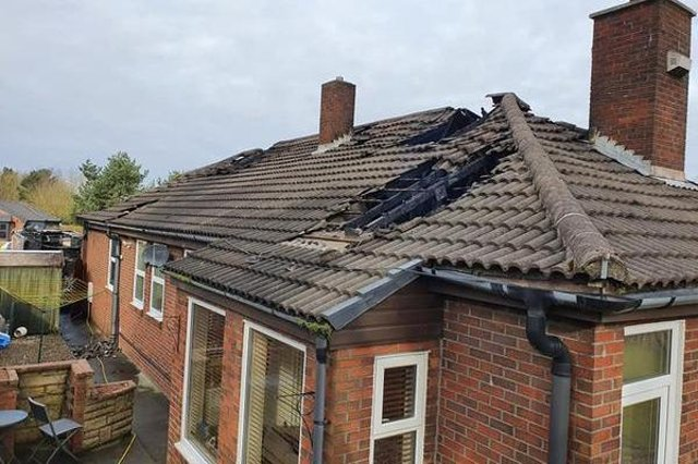 Sean Ivey's house was set alight in a suspected arson attack in Wingate.