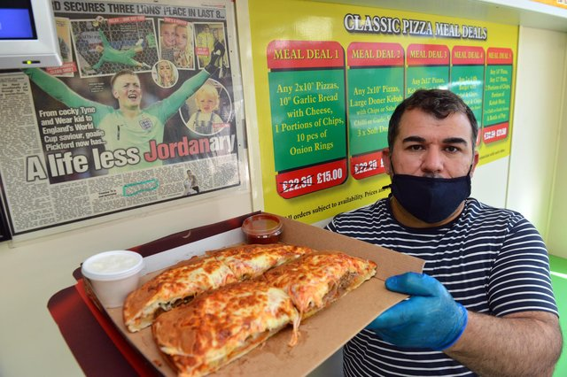 Selim Kilic, owner of Classic Pizza in Washington which Jordan has mentioned in a previous interview with The Sun back in 2018.