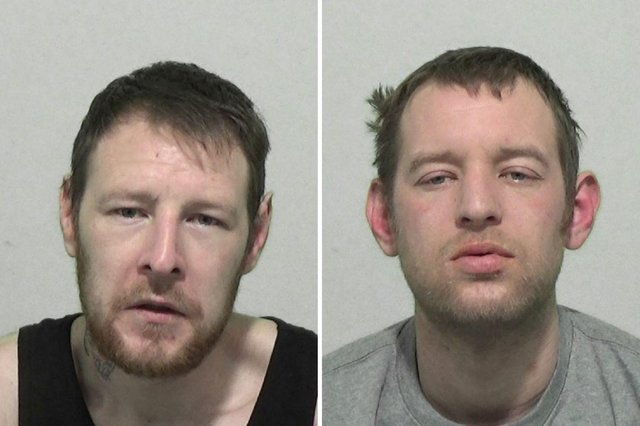 David and Aaron Richardson have been convicted