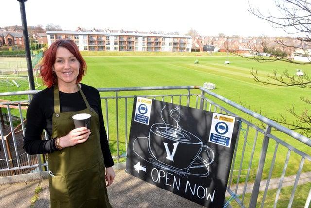 Emma Duncan of Vistas cafe at Ashbrooke Sports Club
