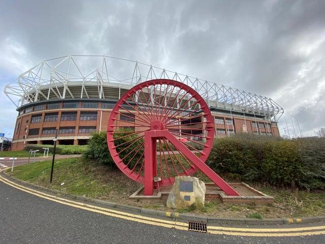 Sunderland's Stadium of Light stadium.