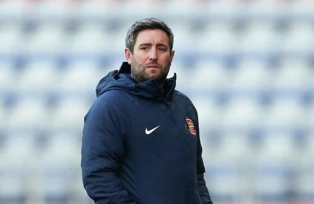 Sunderland boss Lee Johnson.