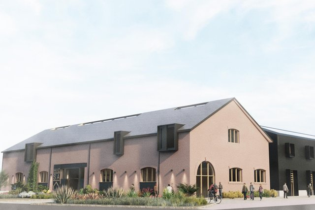 How the new training centre will look