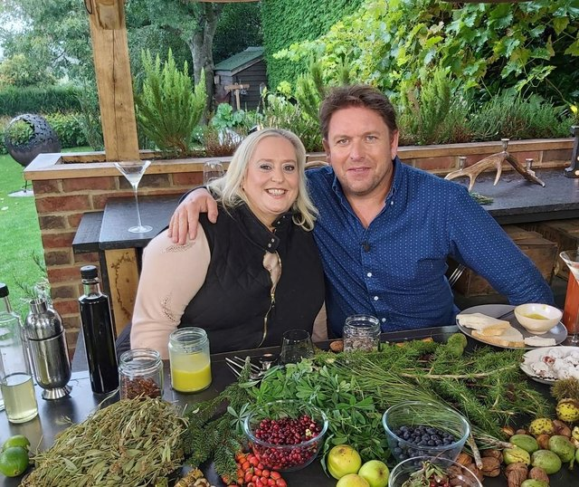 Alysia Vasey, AKA The Yorkshire Forager, is regularly seen on James Martin's Saturday Show