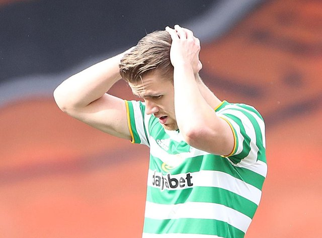 Celtic defender Kristoffer Ajer is a transfer target for Newcastle United. (Photo by Ian MacNicol/Getty Images)