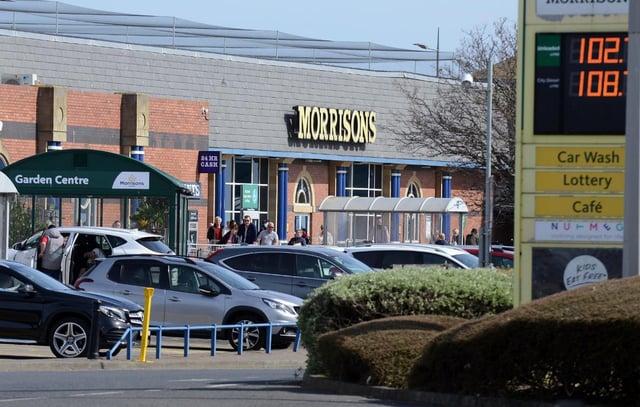 The incident happened in the car park of the Morrisons supermarket in Seaburn last November.