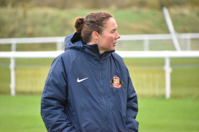 Sunderland Ladies boss Mel Reay