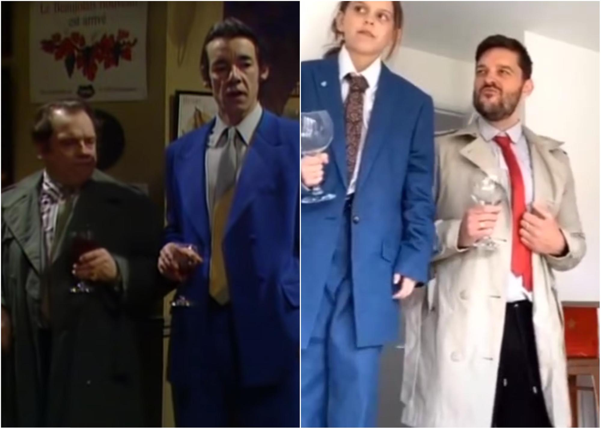 Dad S Tik Tok Video Goes Viral With Recreation Of Classic Only Fools Horses Bar Scene Sunderland Echo