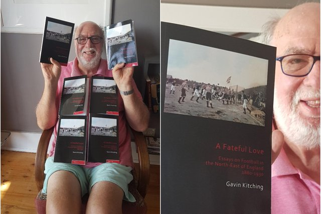Gavin Kitching and his new book.