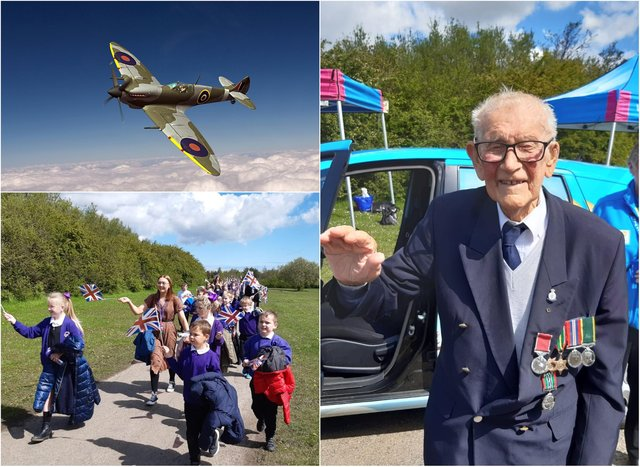 Celebrations at Herrington Park as a Spitfire flyover is planned to honour Len Gibson