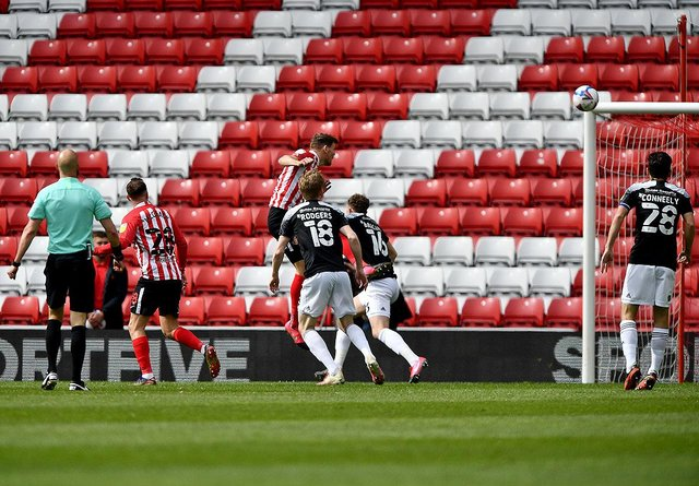 Charlie Wyke missed Sunderland's win at Plymouth Argyle