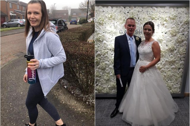 Jenna has been walking 10,000 steps every day in March for charity despite suffering bone cancer.