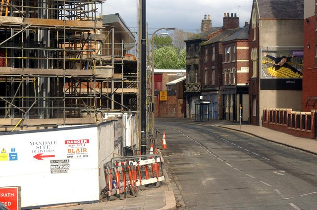 The changing face of High Street East 15 years ago. New apartments and flats were on the way among other developments. Remember this?