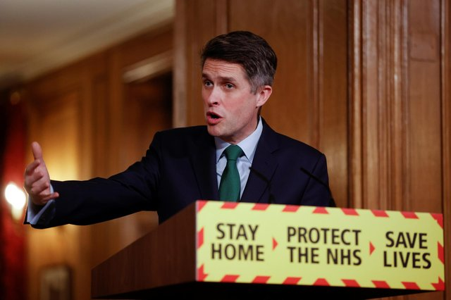 Education Secretary Gavin Williamson speaking during a Downing Street briefing. Picture: John Sibley - WPA Pool/Getty Images.