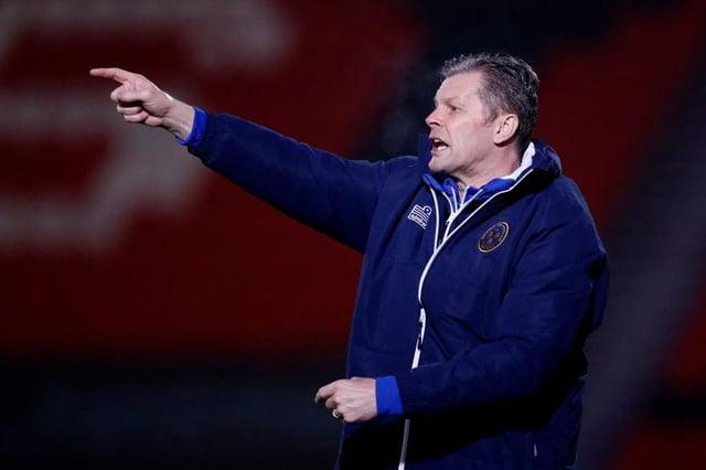 Shrewsbury Town boss Steve Cotterill.