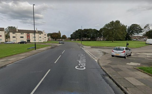 Officers say the assault took place on Gartland Road, at the junction with Gilbert Road, on April 16. Photo: Google Maps.
