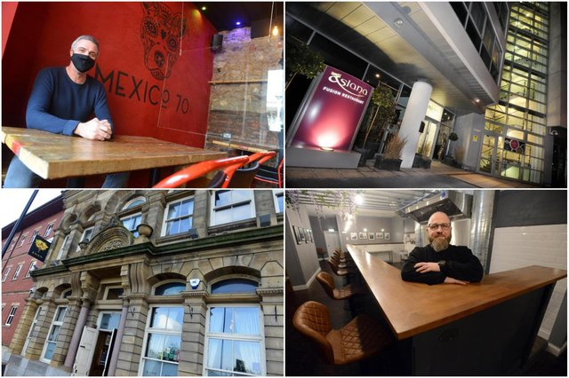 City pubs and restaurants are looking forward to welcoming sit in custom once more.