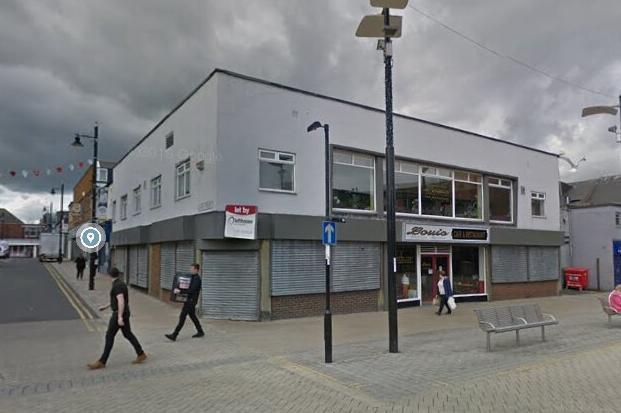 Former Louis Cafe, Park Lane, Sunderland Picture Google