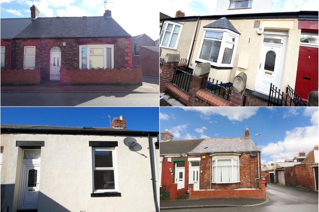 These are the 10 cheapest properties currently on the market in Sunderland.