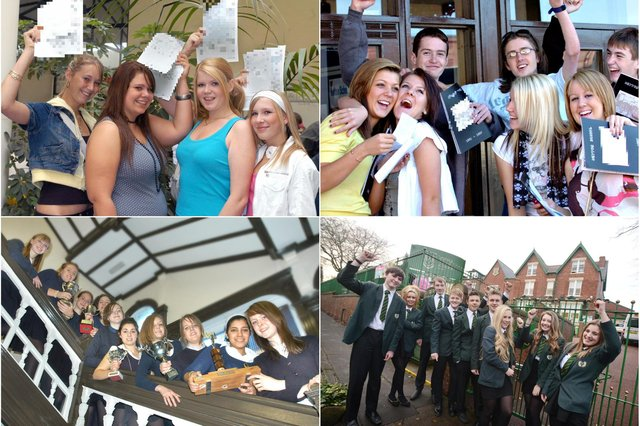 Join us for a GCSE results day look at years gone by.