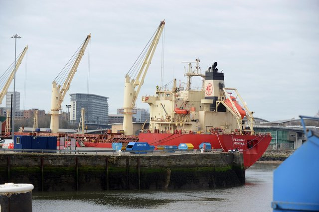 The loads will be moved from Liebherr in Deptford to Port of Sunderland.