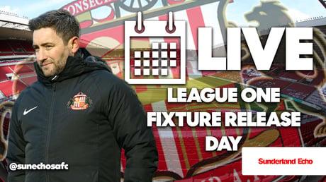 Sunderland AFC 2021/22 fixtures LIVE: League One schedule announcement as Lee Johnson's side eye promotion season