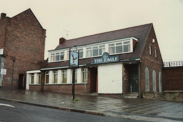 The Eagle was in Portsmouth Road in Pennywell and was pictured in August 1989. It was demolished in the 1990s. Photo: Ron Lawson.