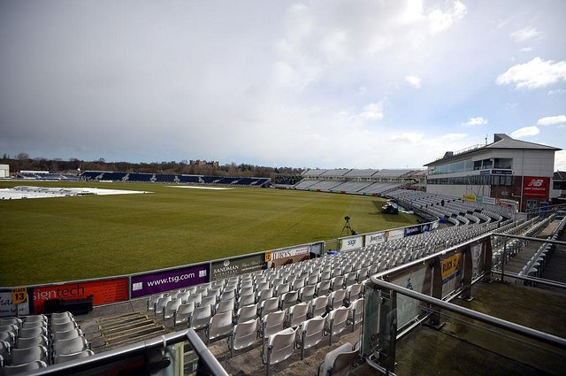 A general view of the Durham CCC's Riverside Stadium in Chester-le-Street.  (Photo by Nigel Roddis/Getty Images)