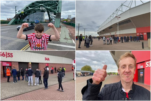 Fans are delighted to be back at the Stadium of Light.