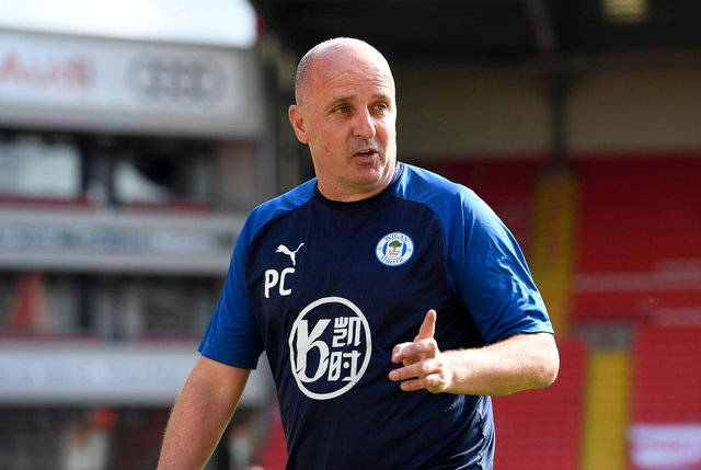 Paul Cook during his Wigan Atheltic days.