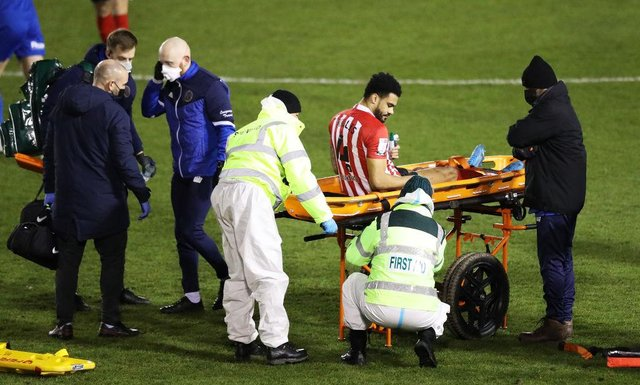 Sunderland defender Jordan Willis could face another year on the sidelines after suffering a setback in his recovery from a major knee injury. (Photo by Naomi Baker/Getty Images)