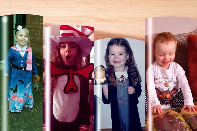 Despite everything that's going on, World Book Day has certainly not been shelved.