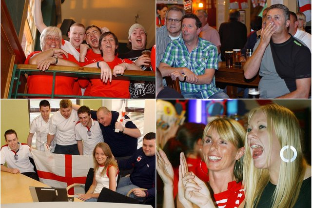 The highs and lows of being an England fan. See if you are pictured in our retro spread.
