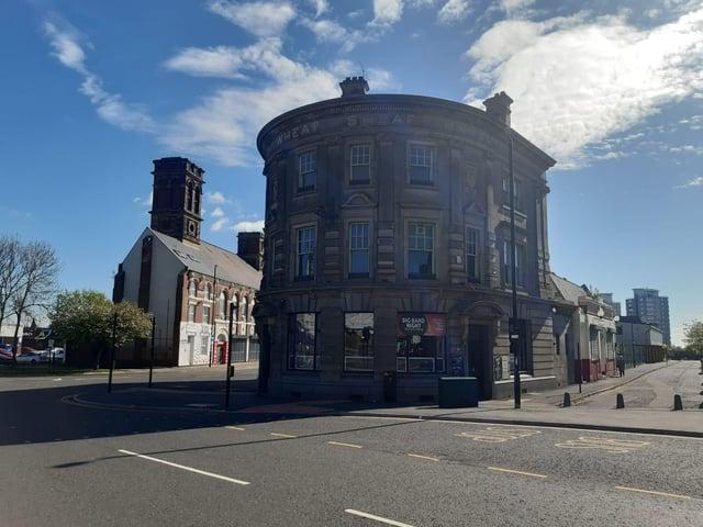 The Wheatsheaf pub in Roker Avenue, Monkwearmouth.