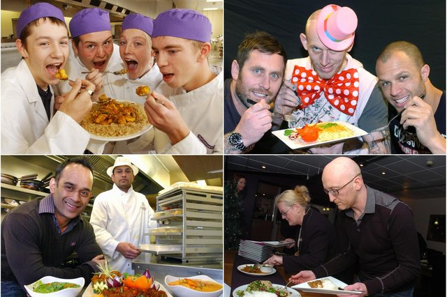 See if you can spot someone you know in our curry round-up.