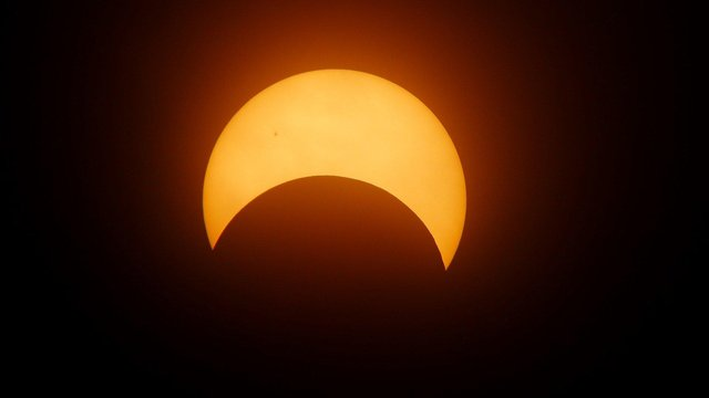 A Partial solar eclipse is due to take place today.