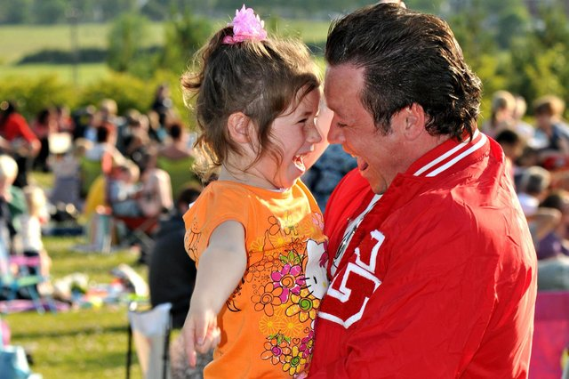 Were you at the outdoor screening of Grease in 2011?