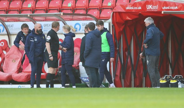 The half-time tensions on the touchline and a Sunderland boost: Behind the scenes of the Oxford United draw