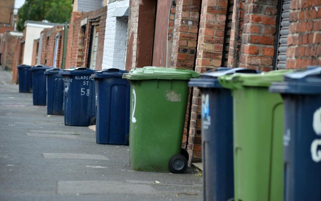 Bin collection teams in Sunderland have been impacted by self-isolation rules, with other workers moved in to complete the rounds.