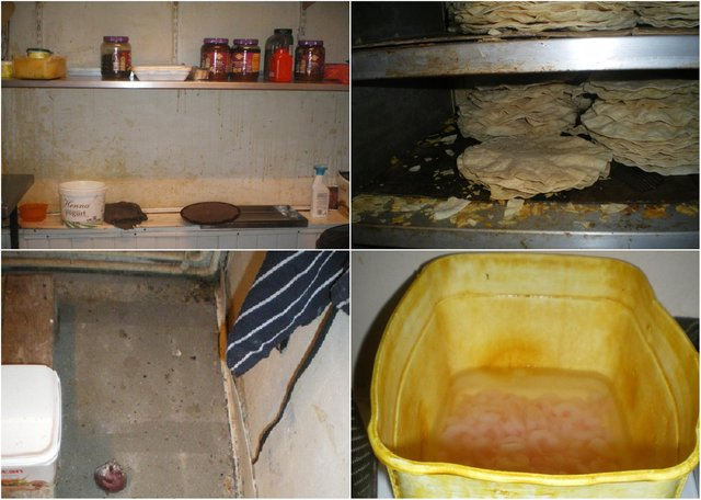 These are the filthy conditions which let to an Indian takeaway being prosecuted