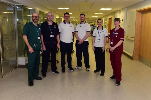 These Sunderland Royal Hospital staff helped colleagues get to work, or stayed at the hospital throughout, during the Beast from the East in 2018. Recognise them?