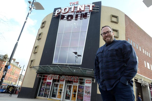 The Point's Andrew Golding ahead of new refurbishment earlier this year