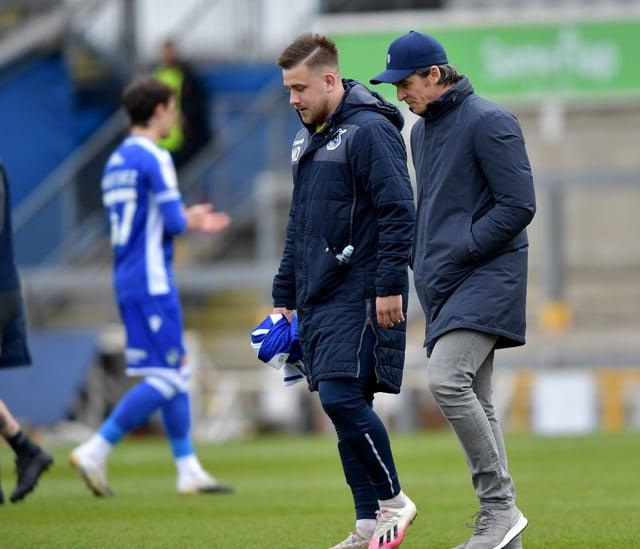 Bristol Rovers boss Joey Barton