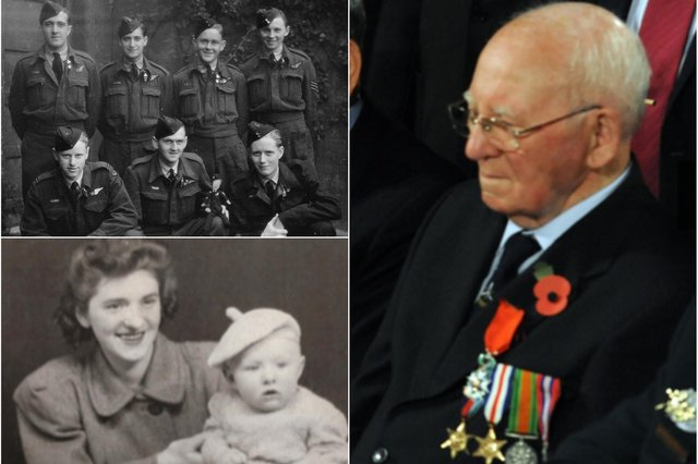 Tom Davidson whose son Peter survived a serious health scare while Tom was serving in the RAF.