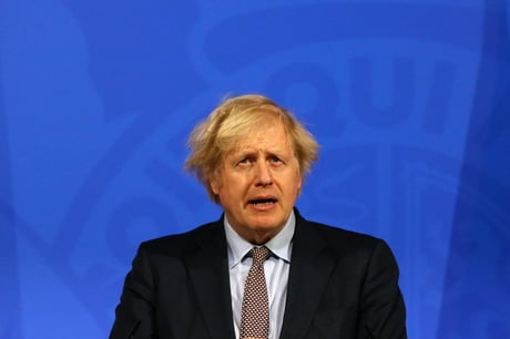 Prime Minister Boris Johnson warns that easing lockdown will 'inevitably' lead to more Covid deaths