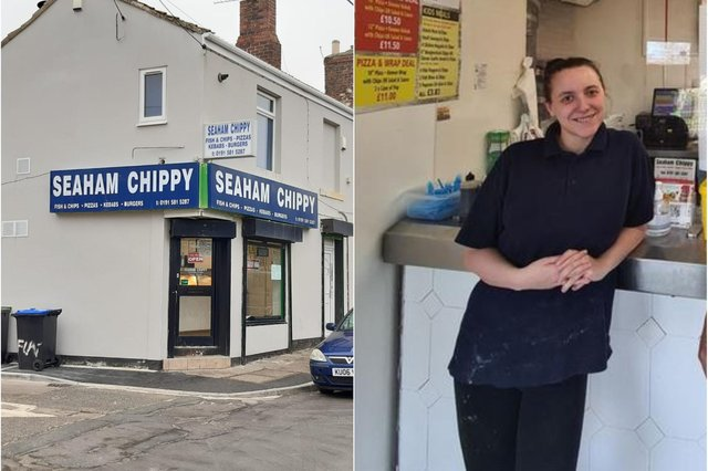 Seaham Chippy manager Michelle Gray has set up an online fundraiser to help those in need.