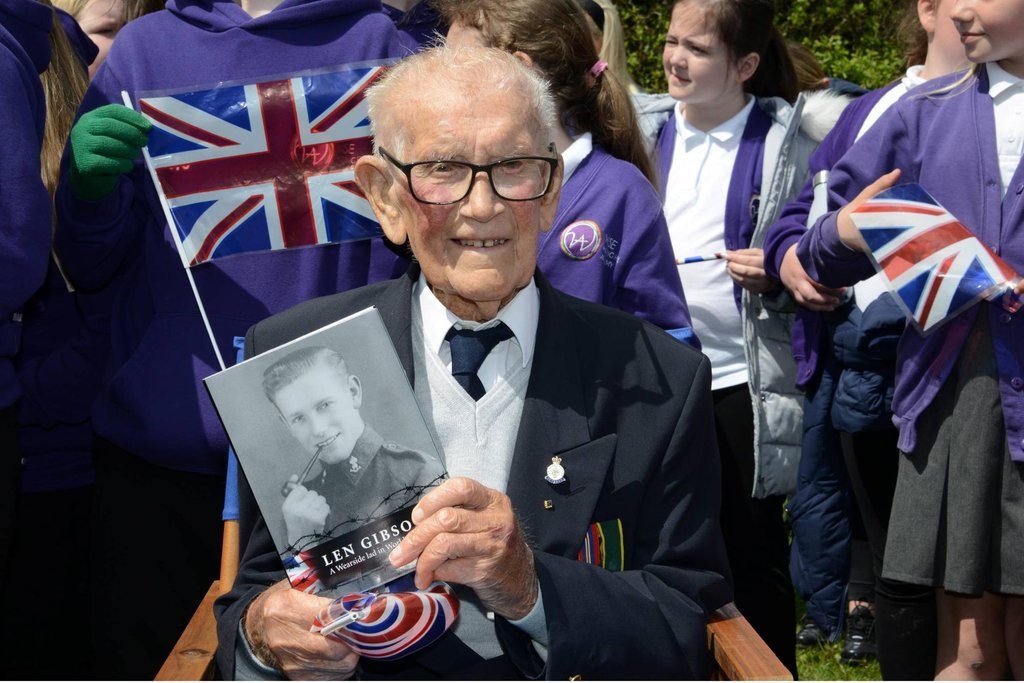 Sunderland Death Railway veteran Len Gibson has died aged 101, according to reports